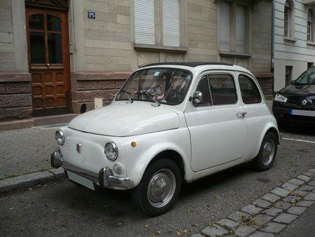 FIAT 500 Strasbourg - Orangerie (1)