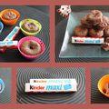 Gourmandises au chocolat kinder :o)