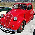 Fiat 500a topolino 1936-1948
