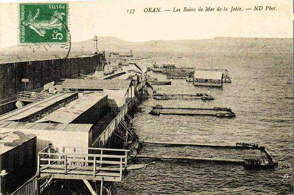 Oran- 162- travail sur les quais