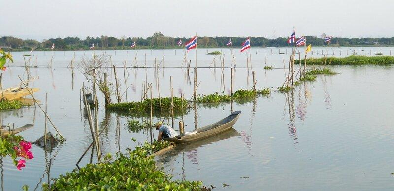 Lac Payao réserve d'eau douce pour le nord de la thailande (5)