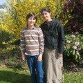 2007 : Avec Tiphaine psychologue qui supervise mon évolution