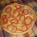Quiche au thon et tomates