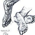 Exercices de pieds