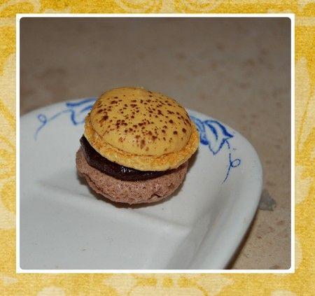 Macarons Chocolat Caramel