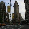 premiers pas à New York