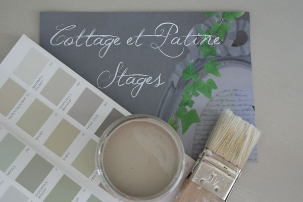 photo stage de patines Cottage et Patine