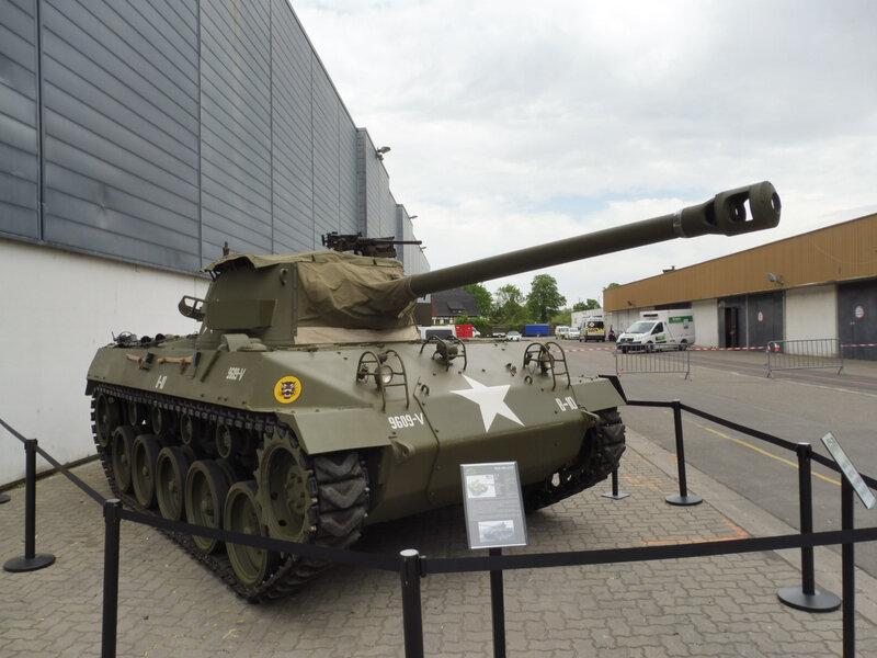 BUICK char lourd M18 Hellcat Strasbourg (1)