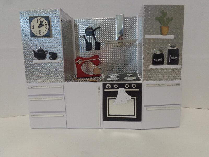 """Carte pliage de banc """"cuisine, couture , atelier etc. ..."""""""