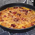 Omelette aux merguez pdt & poivrons