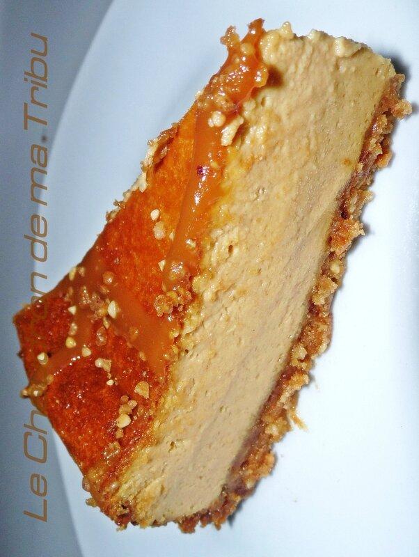 cheese cake caramel au beurre salé 002