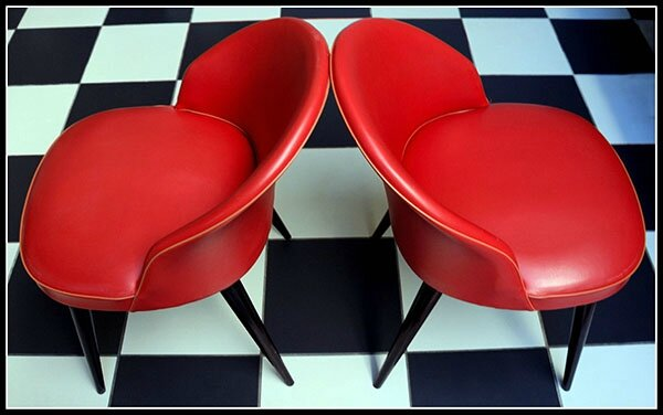 fauteuils cocktail 50's