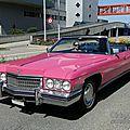 Cadillac de ville 4door convertible-1973