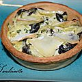 Quiche escargot-brie