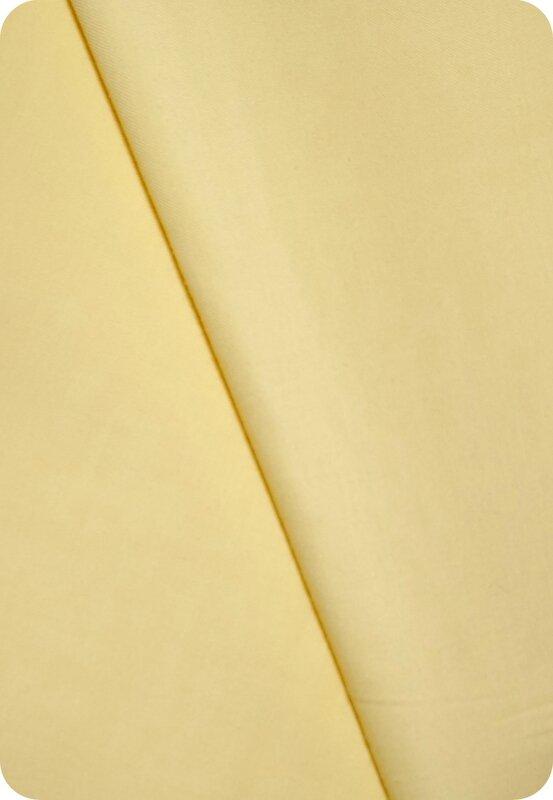 Tissu jaune clair