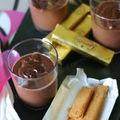 Petits pots de crème au chocolat