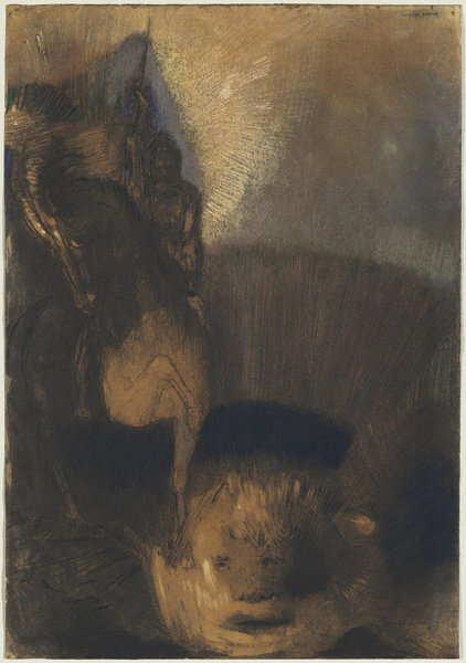 1-saint-george-and-the-dragon-odilon-redon
