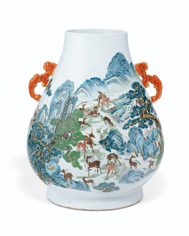 2019_NYR_16950_1104_001(a_pair_of_famille_rose_hundred_deer_hu-form_vases_19th_century)