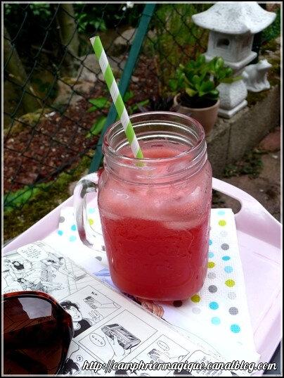 limonade de pastèque