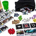Boutique jeux de société - Pontivy - morbihan - ludis factory - roll for the galaxy matériel