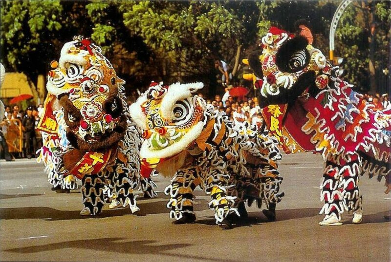CPM Nouvel an chinois Singapour Dragon