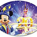 Happy 20 disneyland paris !!