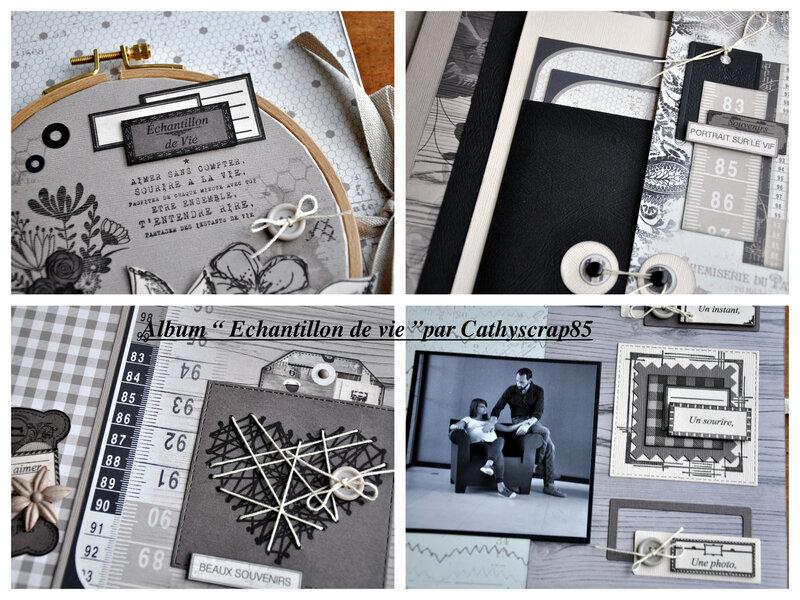 album Echantillon de vie par Cathyscrap85