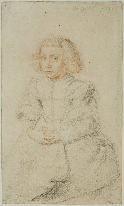 036_Portrait Study of A Little Girl, Seated LDUCS-1225_IMG1 - Hollar