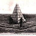 Les cousins - le monument du 90e r.i. sur la colline de montécouvé - vin mouillé