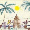 tamouré sous les cocotiers