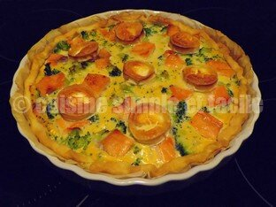 quiche brocoli saumon chèvre 03