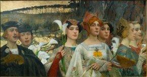 Edgar Maxence Les fleurs du lac