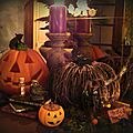 Une partie du decor Halloween 2012