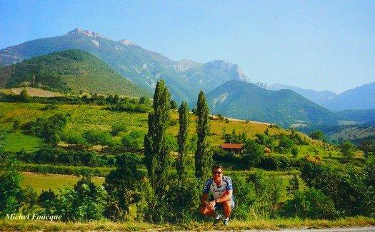 1588) Montée à vélo au col de Rousset (Drôme)