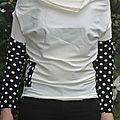 La robe faustine qui est devenue t-shirt