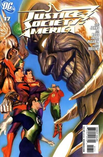 justice society of america 17