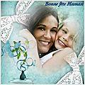 Création photofiltre bonne fête maman