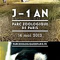 Zoo de paris-vincennes : j - 365