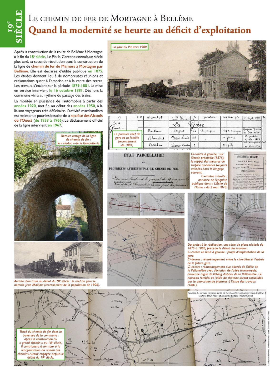 14 Chemin de fer