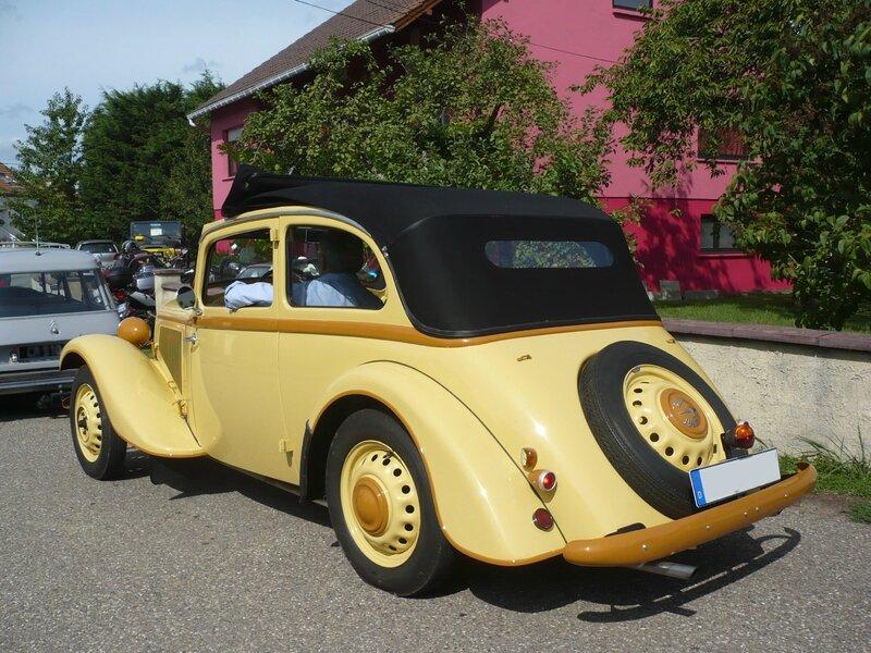 ADLER Trumpf Junior 1E berline découvrable 1939 Hambach (2)