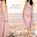 Maxi dress : do brasil !