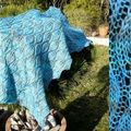 Woodland shawl