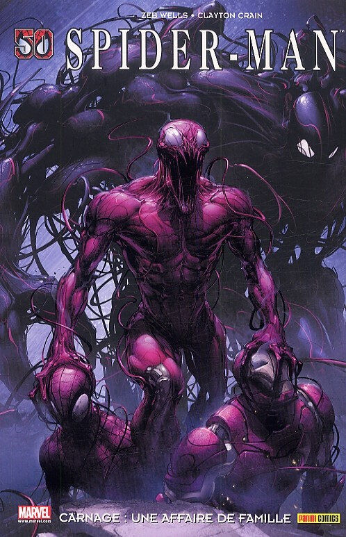 100% marvel spiderman carnage une affaire de famille