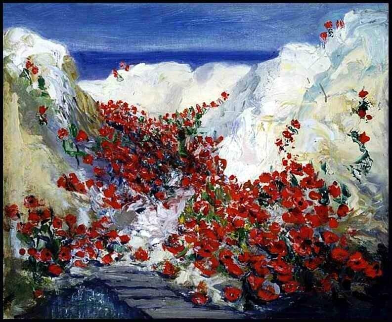 Hamilton tranchée sur la Somme 1919