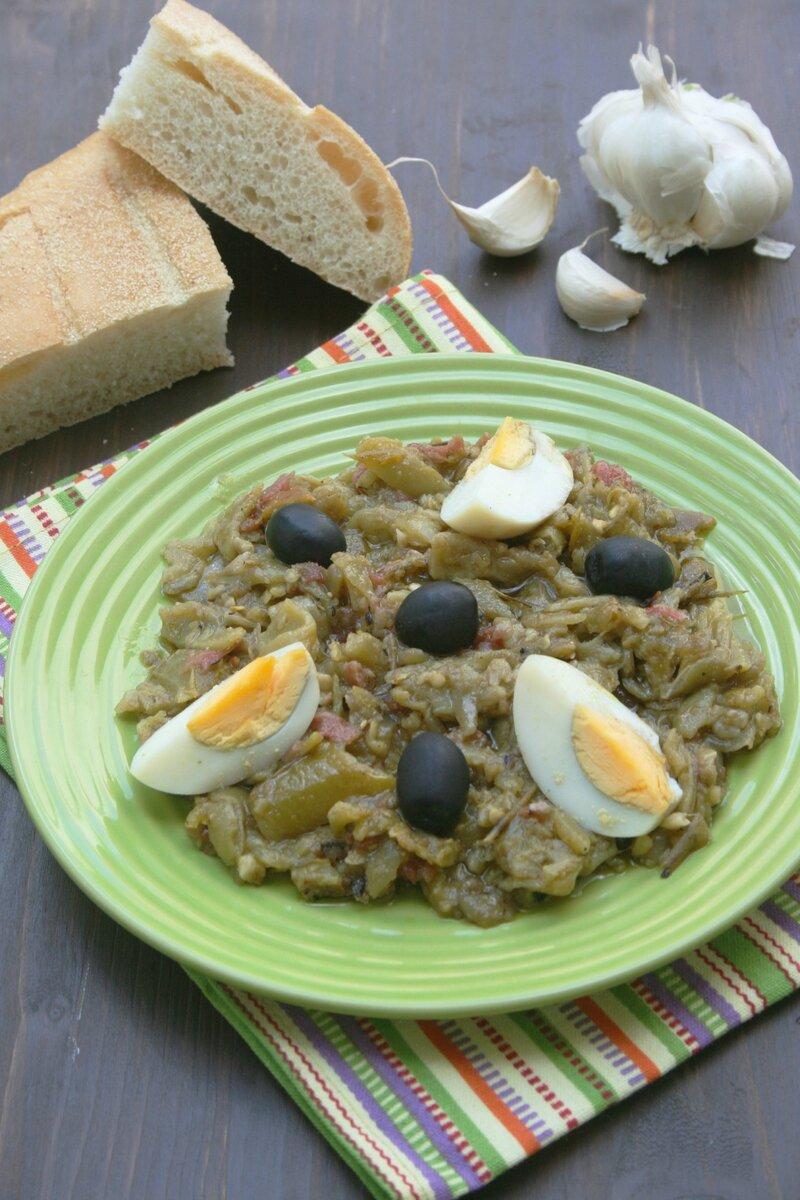 slata mechouia - passion culinaire