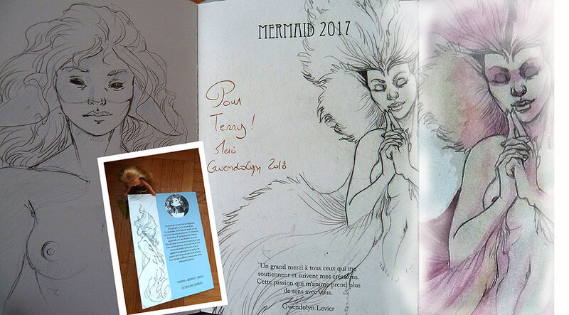 Mermaid 2017 Zibidulle - page de garde et quatrième de couverture