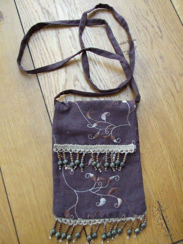 sac à main brun
