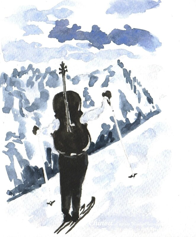 L'Annapurna musical par Robert Doisneau.