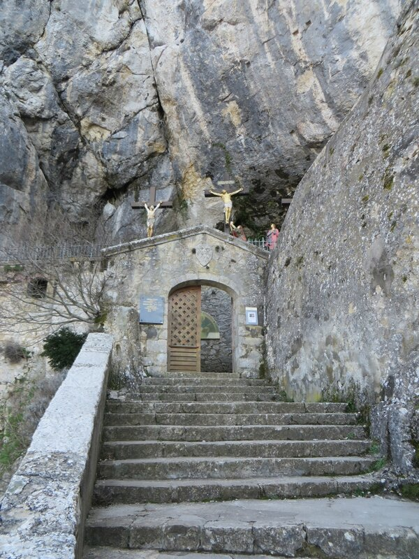 Porte de la Grotte de Sainte Baume