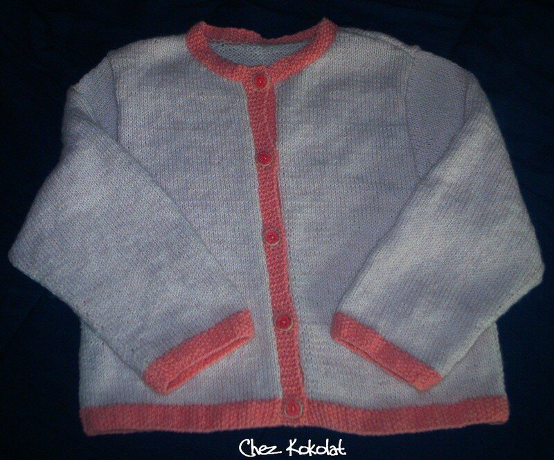 Cardigan pour Douce Greluche